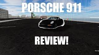 Porsche 911 Review in Vehicle Simulator (Roblox)
