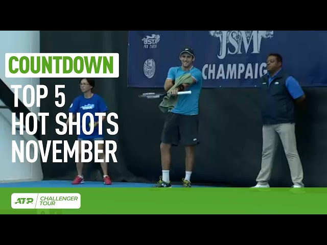 Top 5 Challenger Hot Shots Of November 2019