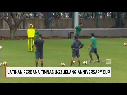 Timnas Indonesia Gelar Latihan Perdana Jelang Anniversary Cup