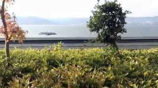 上諏訪温泉  ホテル『朱白』  諏訪湖展望の露天風呂