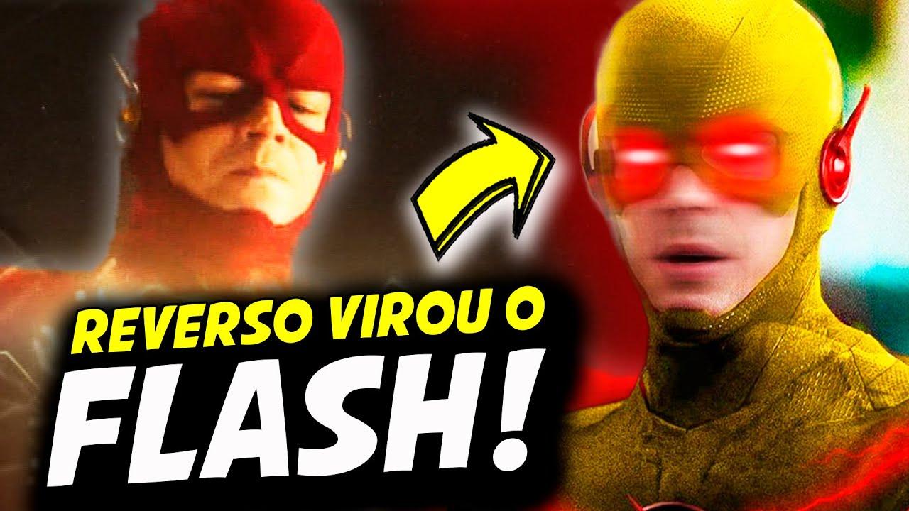 DEU RUIM! REVERSO ROUBOU O CORPO DO FLASH! || THE FLASH