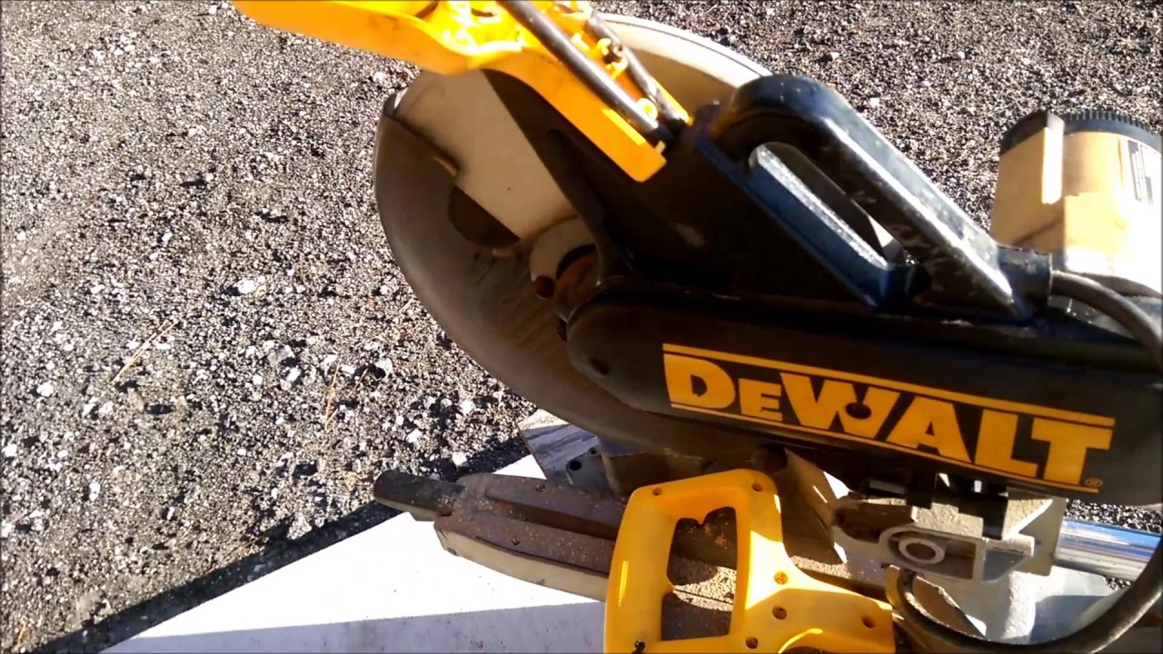 maxresdefault dewalt dw708 saw cord repair youtube dw708 wiring diagram at bayanpartner.co