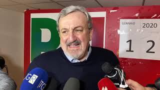 Primarie, vince Emiliano: «Una meravigliosa giornata di democrazia»