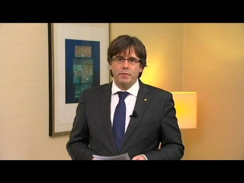 Spanish judge issues European arrest warrant for ousted Catalan leader Carles Puigdemont