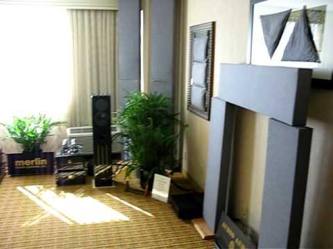 Merlin, Joule, Cardas Room at 2009 Rocky Mountain Audio Fest