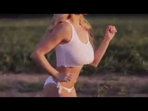 Beautiful Blonde running braless! Slow motion: Lindsey Pelas running in slow motion without a bra!! They says blondes do it better.  This video is for entertainment purposes only. All rights are held by the original creators Live Rich Media.