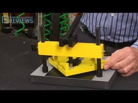 Logan Studio Joiner Framing Equipment Reviews V Nailer Youtube