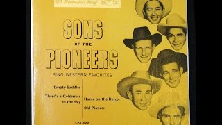 SONS OF THE PIONEERS - Empty Saddles (Trad C/W - 1953)