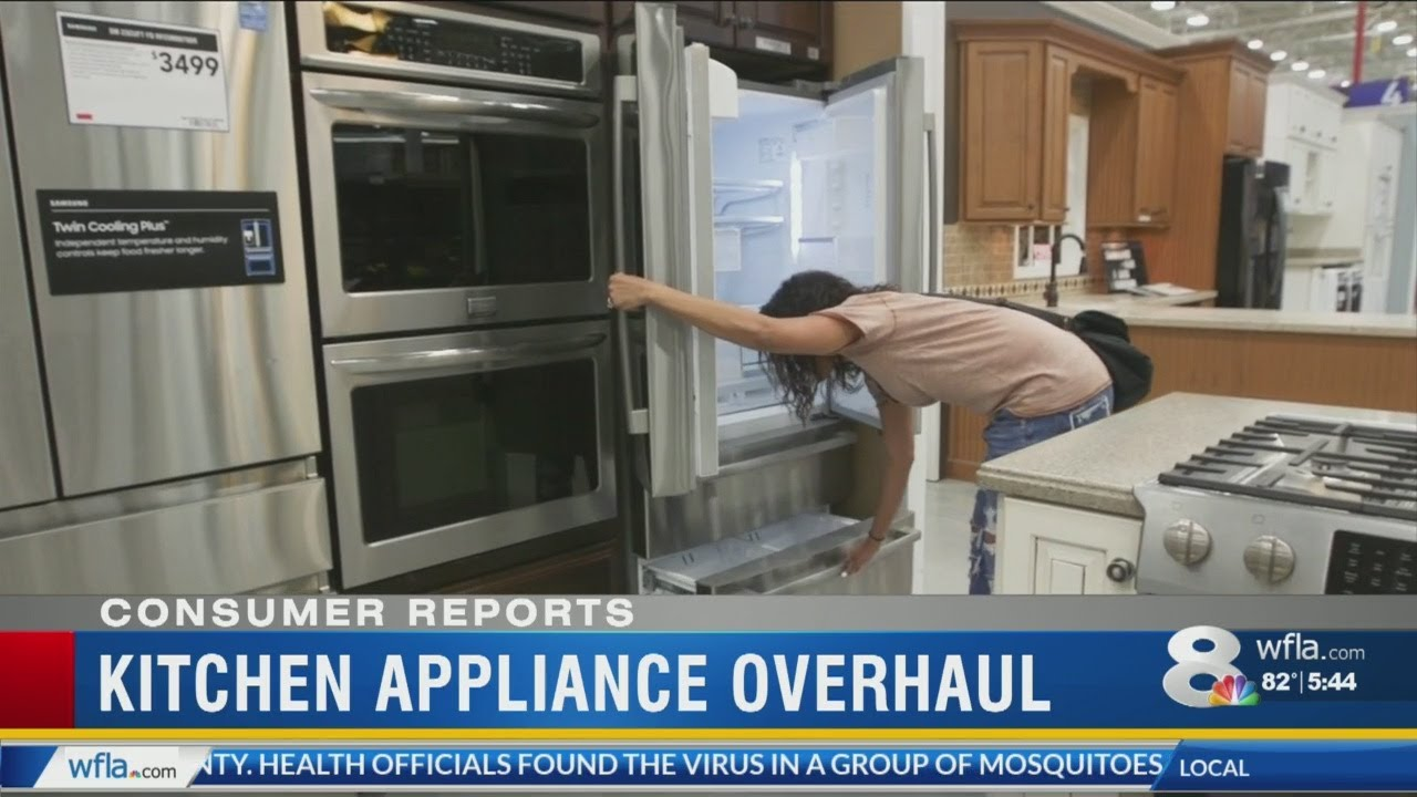 Consumer Reports: What\'s new in big appliances