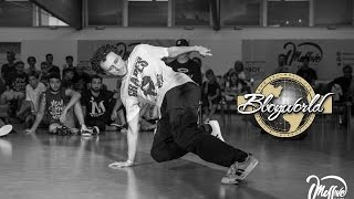 Albi vs Elvasi vs Drain [FOOTWORK 1on1 FINAL] ▶ MASSIVE CAMP 2016 ◀ ⓒ .BBoy World | Italy