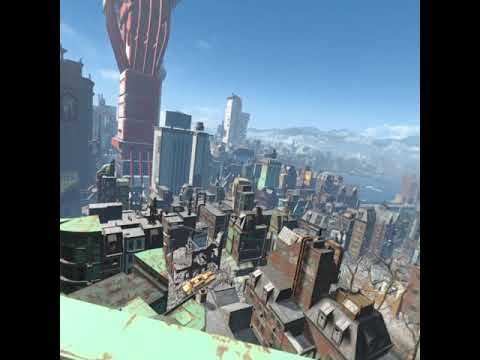Fallout 4 VR From Mila to Mila: Cambridge Construction Site to Commonwealth Bank |