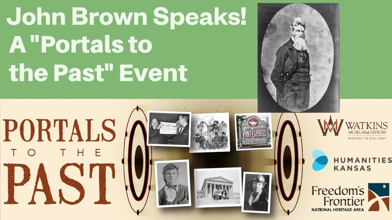 first person presentation of John Brown