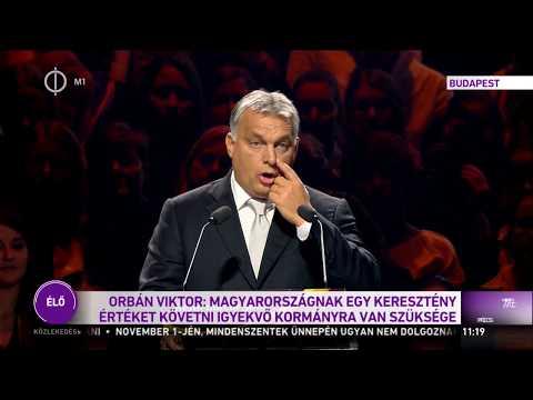 Orbán Viktor beszéde a Reformáció 500.-on - 2017.10.31.