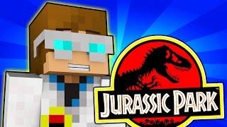 Minecraft | I WORK AT JURASSIC PARK! | Jurassic Map [1]