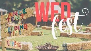 wedfest festival wedding inspiration