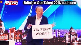 Ben Langley Stand Up Comic FUNNY CUE CARDS  Auditions Britain's Got Talent 2018 BGT S12E06