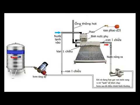 Lắp bơm tăng áp cho máy năng lượng mặt trời 0969344778