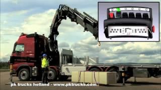 pktrucks HIAB cranes instruction movie - operating the crane