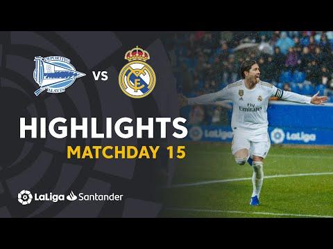 Highlights Deportivo Alaves Vs Real Madrid (1-2)