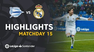 Highlights Deportivo Alavés vs Real Madrid (1-2)