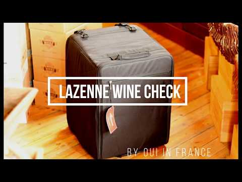 How To Bring Wine On A Plane: Lazenne Wine Suitcase