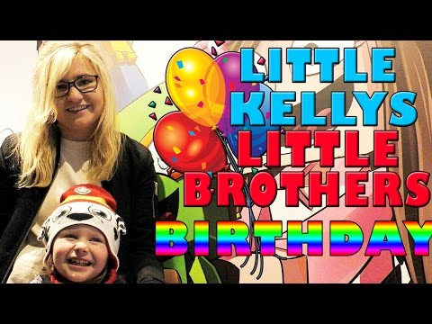 LITTLE KELLYS LITTLE BROTHERS BIRTHDAY SURPRISE! Kelly and Carly Vlogs