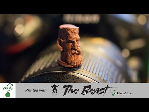 Ultra High Resolution 3D Print - The Beast 3D Printer