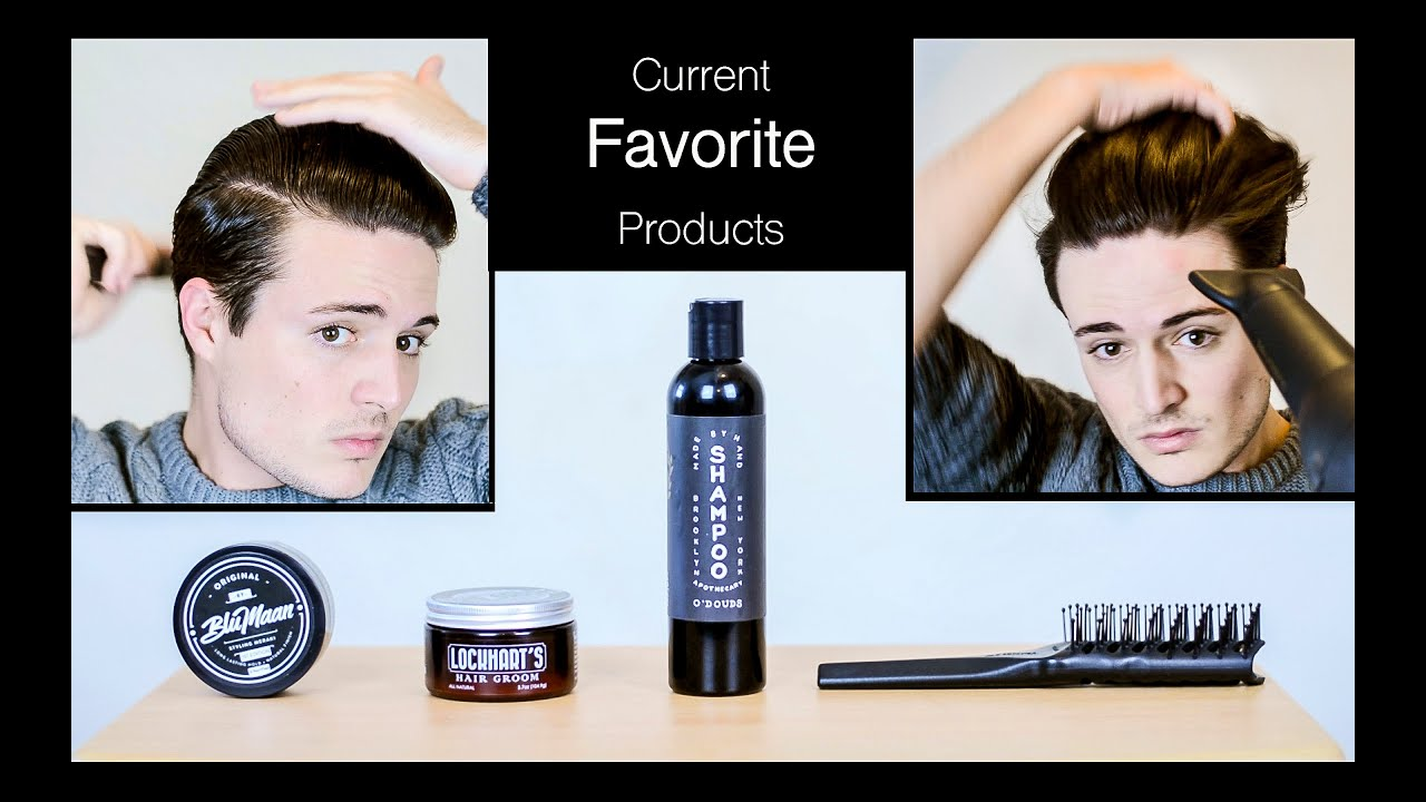 My Current Favorite Hair Products Mens Hairstyling And Healthy