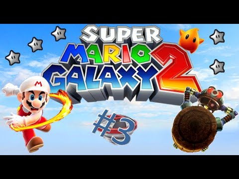 "Super Mario Galaxy 2 Part3 ""Drilling, Silver Stars and Laws of Gravity"""