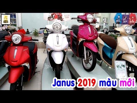 Yamaha Janus 125 2019 Ra Màu Mới ▶️ GIÁP TẾT Giá Xe Janus NTN??? 🔴 TOP 5 ĐAM MÊ