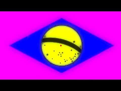 Ilusão de ótica -  Bandeira do Brasil