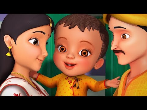 Thumbnail: Tai Tai Tai Mamar Bari Jai | Bengali Rhymes for Children | Infobells