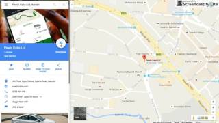 Google Maps  Demo Free HD Video
