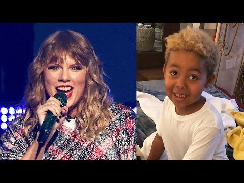 Taylor Swift SURPRISES Wiz Khalifa & Amber Rose's Son With VIP Concert Tickets