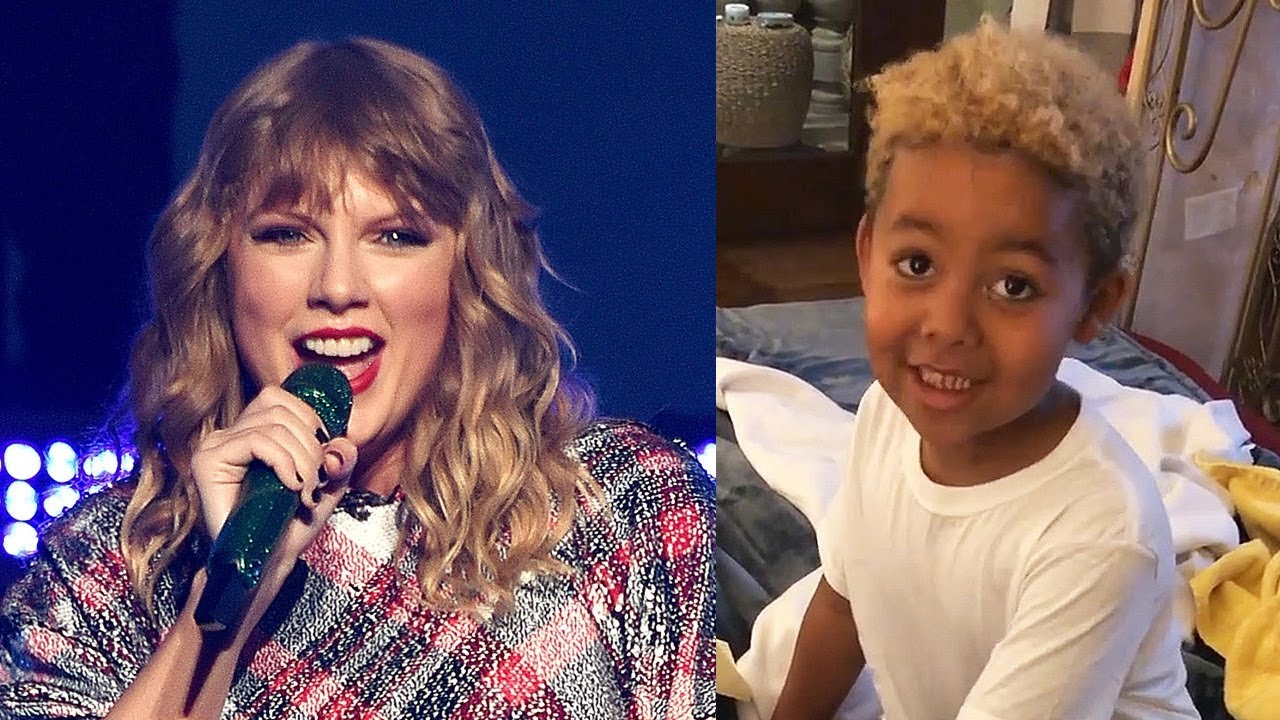 Taylor Swift Surprises Wiz Khalifa Amber Rose S Son With Vip Concert Tickets Youtube
