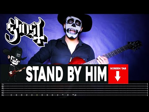 Ghost - Stand By Him (Guitar Cover by Masuka W/Tab)