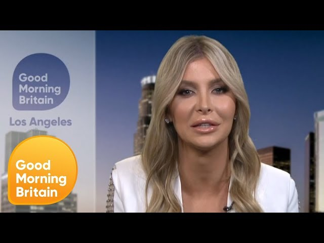 Caitlyn Jenner\'s Partner Sophia Hutchins on Their Close Relationship | Good Morning Britain