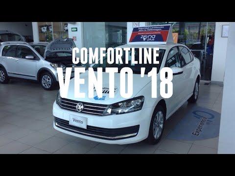 VW Vento Comfortline 2018 | Transmisión Manual - YouTube