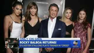 Sylvester Stallone Pulls No Punches in