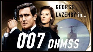 [Tribute] 007 OHMSS - George Lazenby as James Bond