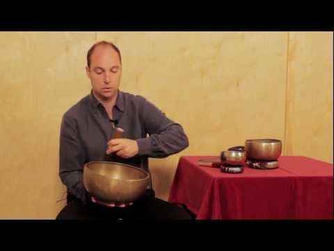 Singing Bowl Playing Instructions from HimalayanBowls.com