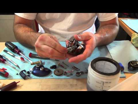 Maintaining Your Baitcaster Reel:  Part 1 - Disassemble