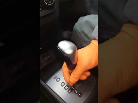 Как снять ручку акпп киа соренто