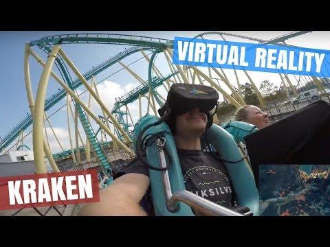 Finally Riding Kraken Unleashed at SeaWorld Orlando...It was incredible!