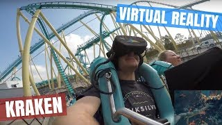 Finally Riding Kraken Unleashed at SeaWorld Orlando...It was incredible!