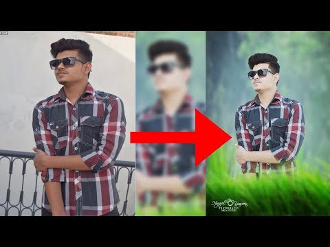 How To Edit Your Photo In Photoshop 7.0 In Hindi / Urdu.