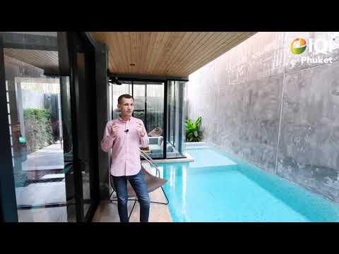 New Japanese Loft Style 3 Bedroom pool villa near Blue Tree
