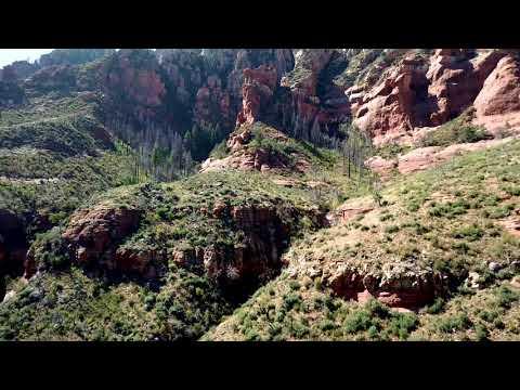 My First Drone Video of Oak Creek, Arizona
