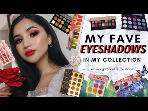 MY FAVORITE EYESHADOW SHADES IN MY COLLECTION ✰ the best shades in my palettes, 2019 edition