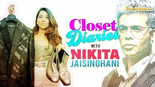 Closet Diaries with Nikita Jaisinghani | Karan Johar | PeepingMoon